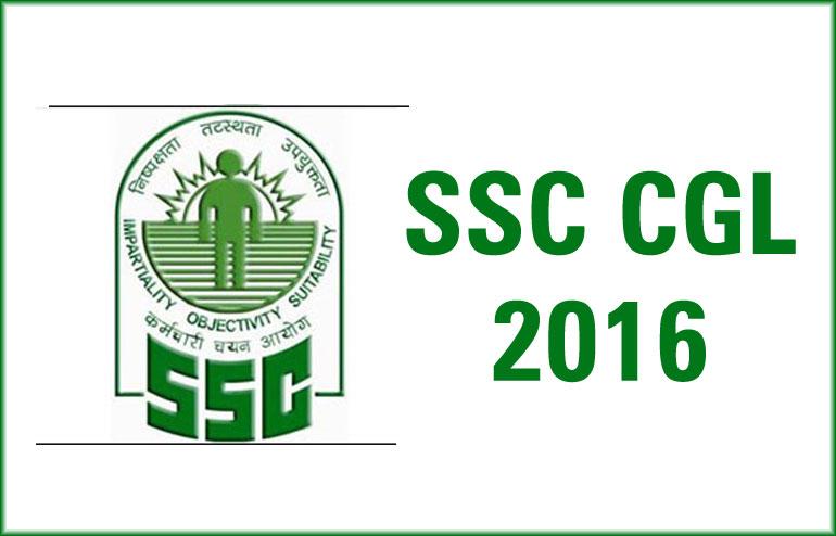 SSC CGL Tier I 2016