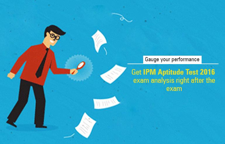 IPM Aptitude Test