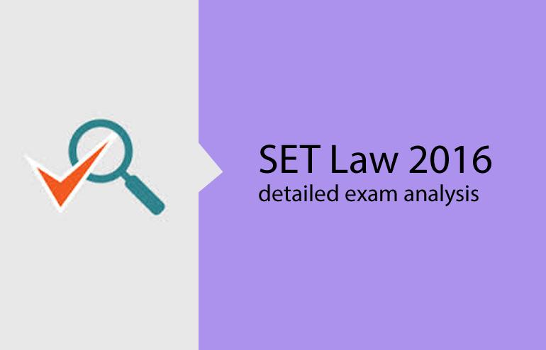 SET (Law) 2016 Analysis Live