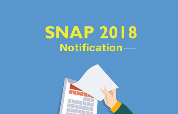 SNAP 2018 Notification