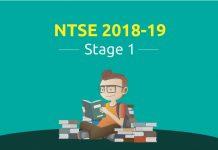 NTSE 2018-19