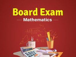 CBSE Board Maths exam