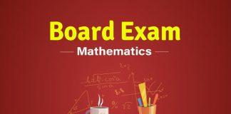 CBSE Board Maths exam