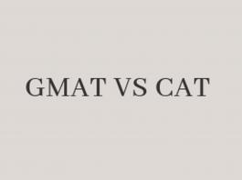 GMAT VS CAT