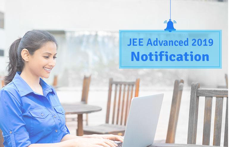 JEE Advanced 2019 Notification